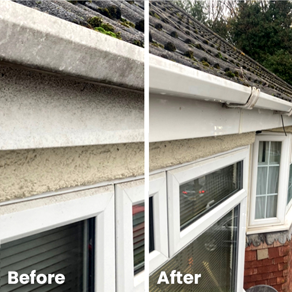 Gutter and upvc cleaning